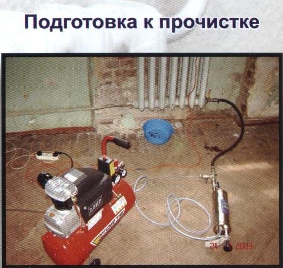 Как прочистить радиатор отопления своими руками 8